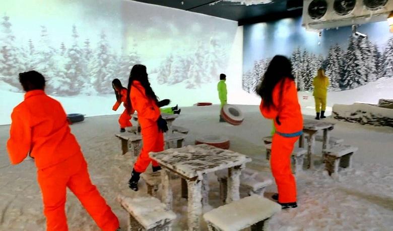 Antalya Tematik Akvaryum Kar Dünyası