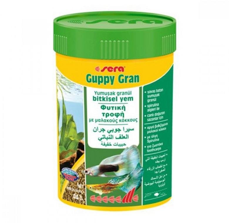 Sera Guppy Gran Balık Yemi
