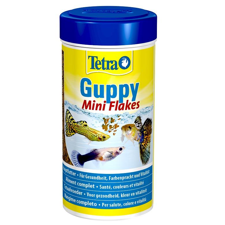 Tetra Guppy Mini Flakes Balık Yemi