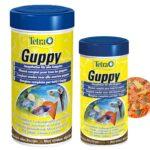 Tetra Guppy Mini Flakes Lepistes Yemi