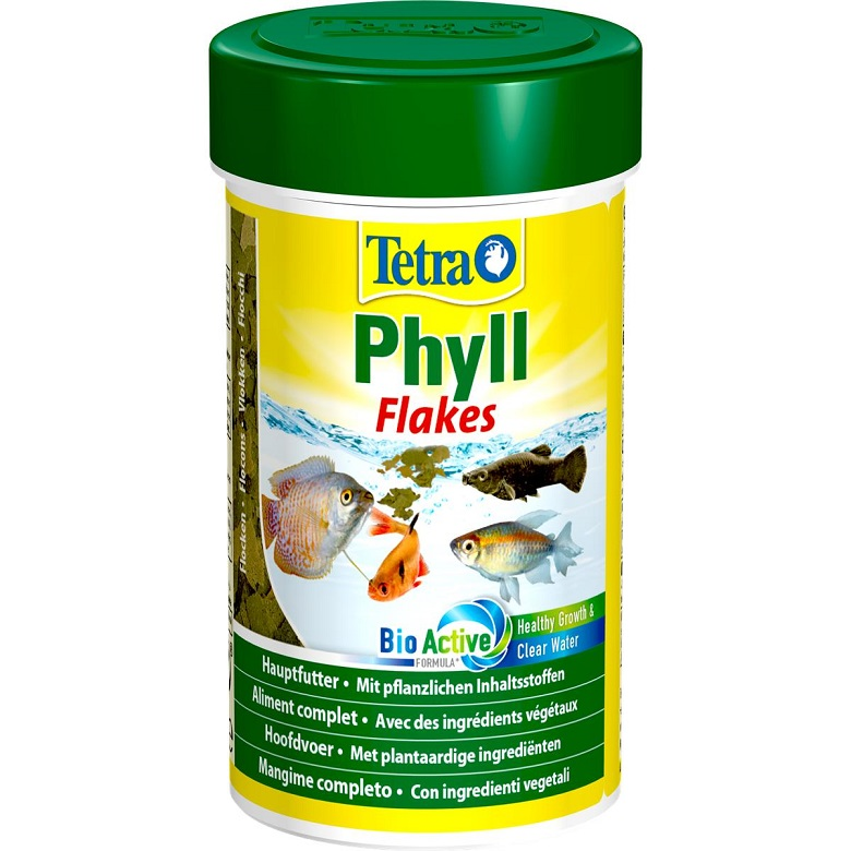 Tetra Phyll Flakes Balık Yemi
