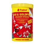 Tropical Koi Goldfish Japon Balığı Renk Yemi