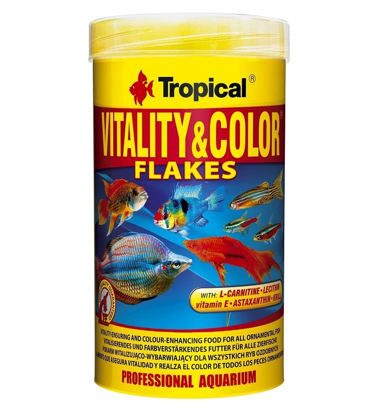 Tropical Vitality Color Flakes Balık Yemi