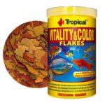 Tropical Vitality Color Flakes Tropikal Balık Yemi